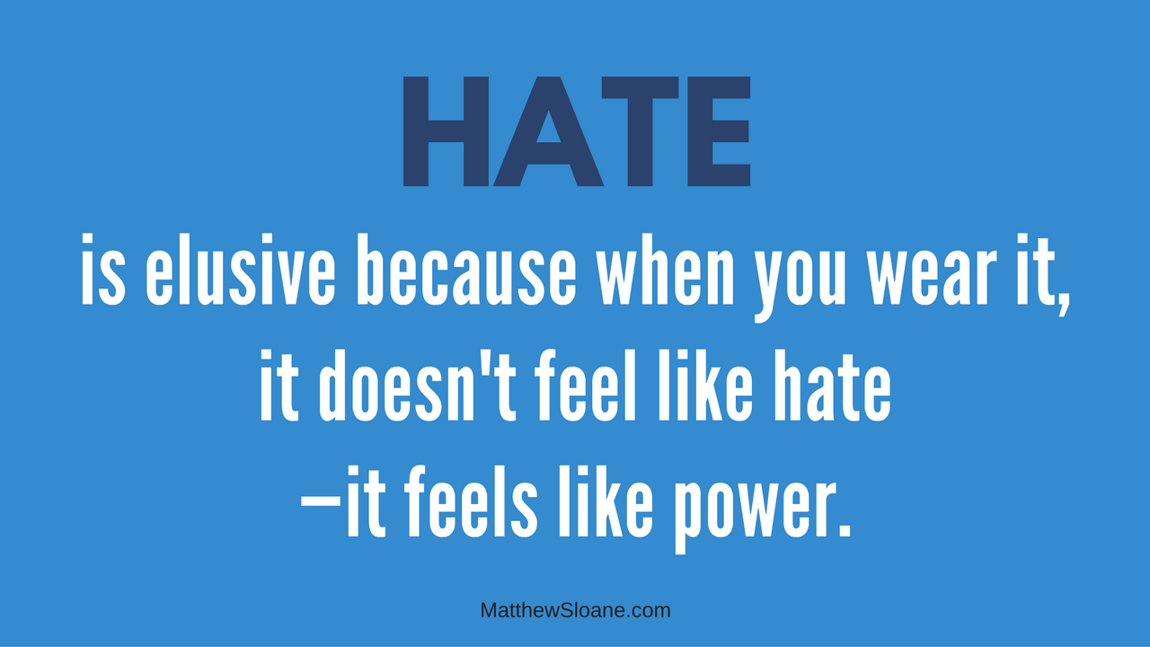 Is It Power or Hate